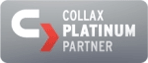 Collax Platinpartner Logo